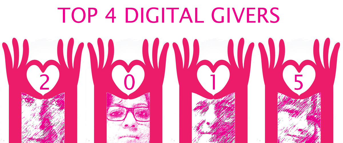 My top 4 digital givers from2015